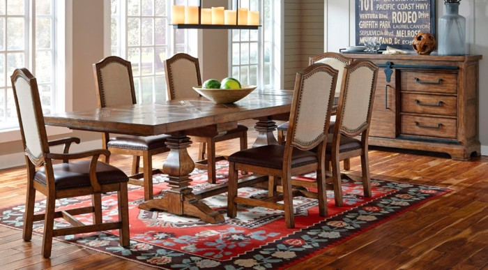 traditional rustic modern which dining style inspires you el dorado furniture. Black Bedroom Furniture Sets. Home Design Ideas