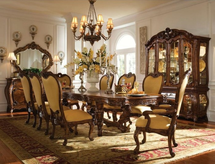 Dining Set Palais Royale El Dorado Furniture Aico