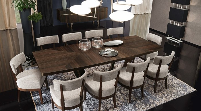 DINING SET KADIA COLLECTION EL DORADO FURNITURE ALFU