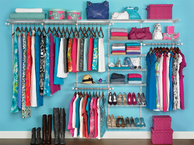 organized clothes
