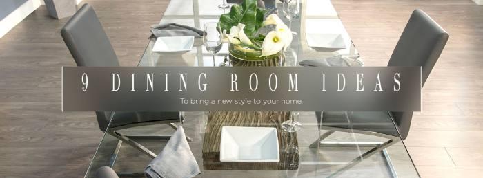 Inspiration: 9 Dining RoomIdeas